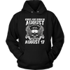 Kings Are Born In August But The Real Kings Are Born On August 17th T-Shirt Leo Zodiac