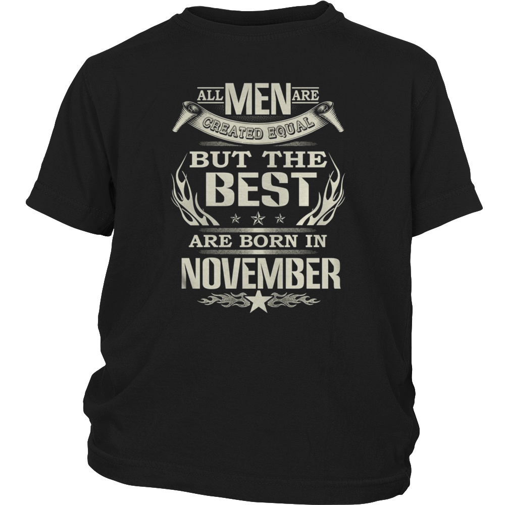 THE BEST ARE BORN IN NOVEMBER
