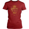 BIRTHDAY GIRL QUEENS ARE BORN IN MAY GIRL GIFT T-Shirt