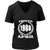 APRIL 1988 SHIRTS PRINCESS BORN IN APRIL