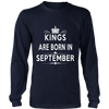 KINGS ARE BORN IN SEPTEMBER
