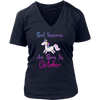 Best Unicorns Are Born In October T shirt Hoodie