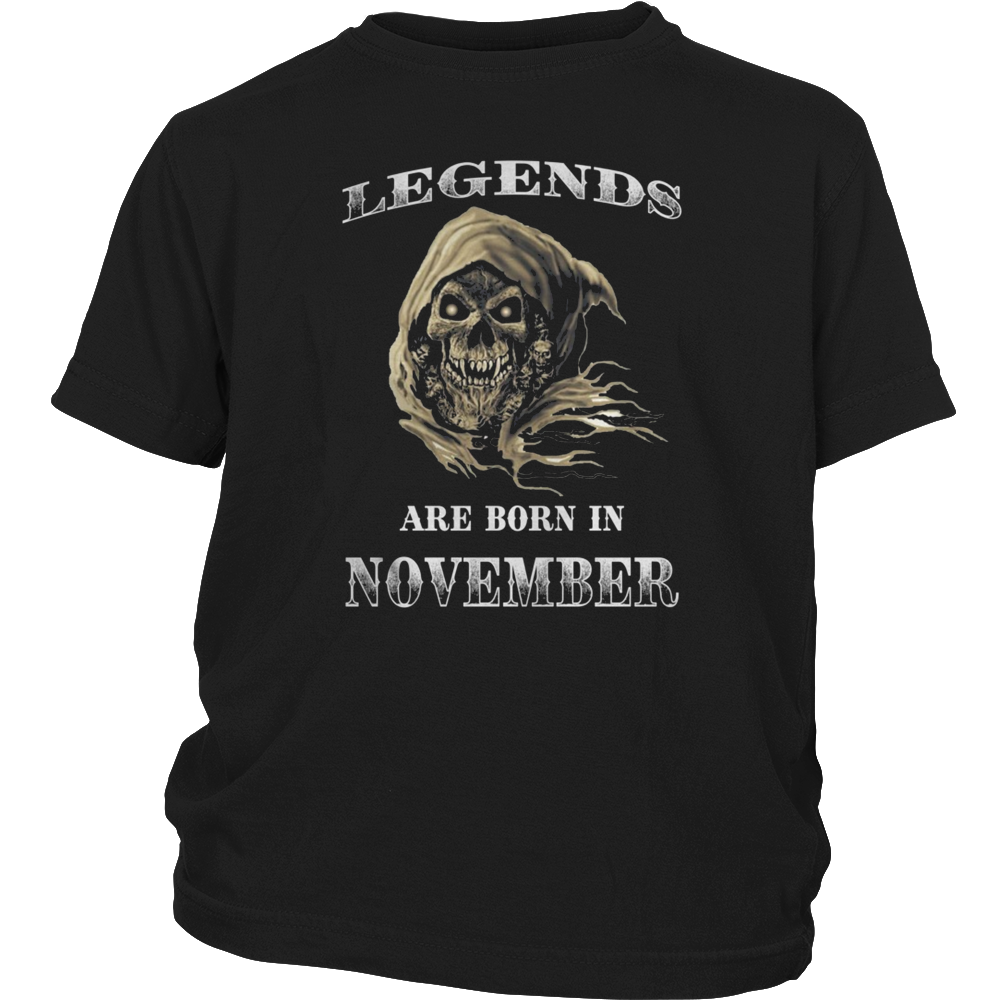 NOVEMBER LEGENDS ARE BORN IN NOVEMBER
