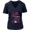 Queens Are Born On July 16 Funny Birthday T-Shirt