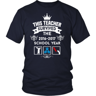 This Teacher Survived the 2016-2017 shirt Funny Teacher Gift