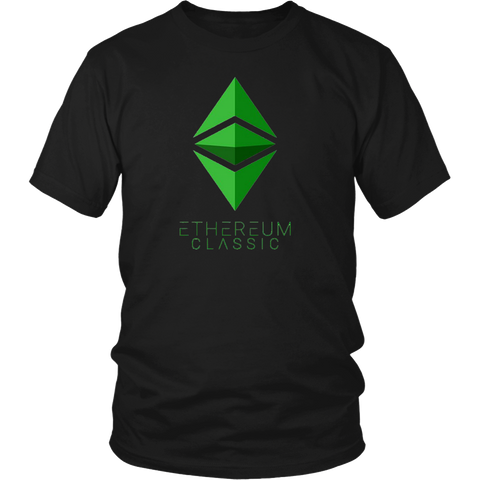 Ethereum Shirt Diamond White - Spread the Ether