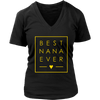 Best Nana Ever tshirt Grandma love minimalist square design