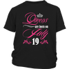 Queens Are Born On July 19 Funny Birthday T-Shirt