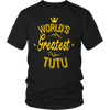 World's Greatest Tutu Grandma Gifts For Women T-shirt