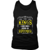 KINGs Are Born in September Shirt, September Birthday Gift