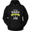 The Best DAD Are Born In June T-Shirts Birthday Gift Shirt