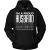 Proud Husband Of A Freaking Awesome Wife T-Shirt