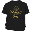 Princess Are Born In July Shirt, Born in July T Shirt