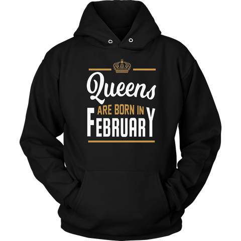 Unicorn Queens are Born in February Shirt