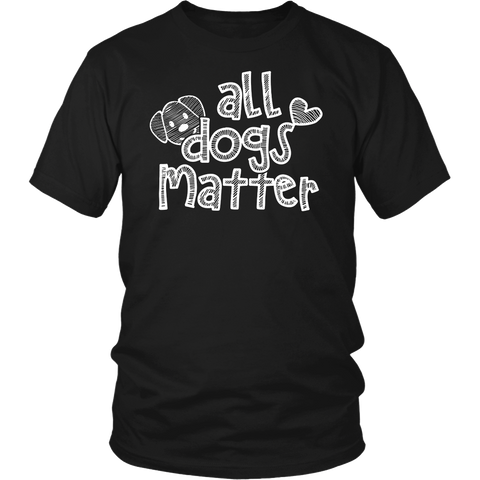 All Dogs Matter Sketch t-shirt