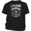 LEGENDS ARE BORN IN NOVEMBER. BIRTHDAY GIFT IDEAS FOR MEN/WOMEN