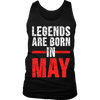 LEGENDS Are Born In May T-shirt, Vintage Shirt