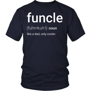 Mens Mens Funcle Definition T-shirt Funny Gift For Uncle