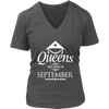 Womens Queens are Born in SEPTEMBER Vietnam Birthday W1 T-shirt