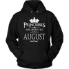 Princess Are Born In August T-Shirt