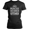 Princess Are Born In September T-Shirt