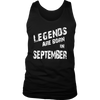 Legends Are Born In September T-Shirt