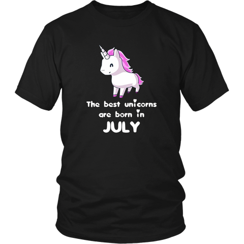THE BEST UNINCORN ARE BORN IN JULY