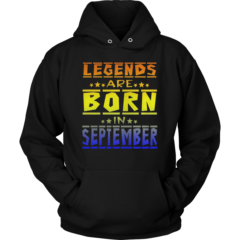 LEGEND ARE BORN IN SEPTEMBER