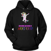 Unicorns are born in August birthday girl unicorn dab tshirt