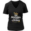 Princesses Are Born in October TShirt Cute Bday Gift