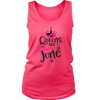 Queens Are Born in June T-Shirt - Perfect for Birthdays