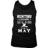 Hunting Legends Are Born in May T-Shirt