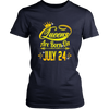 Queens Are Born On July 24 Tshirt