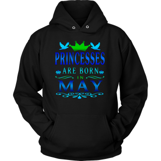 Princesses Are Born In May Shirt