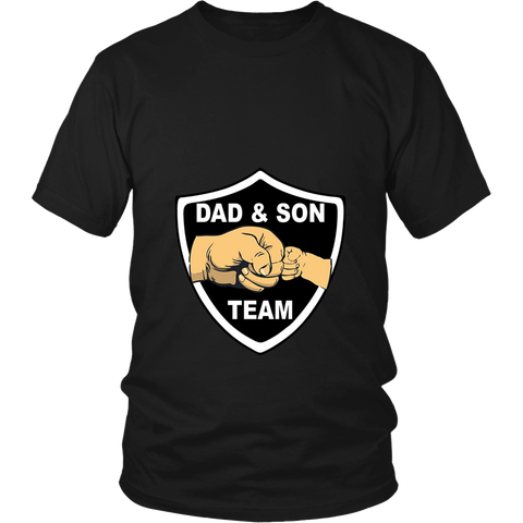 Fathers Son Sports Shirt Dad Son Team Sports Buddies