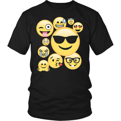 Emoji Pack ComboT-shirt Emoticon Smily Face Tshirt.