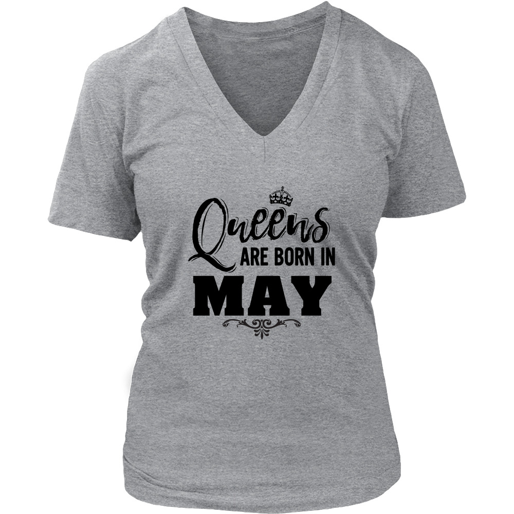 Kings Queens are born in May t shirt
