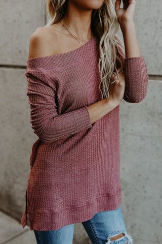 Sheinlove Long Sleeves Casual Sweater Shirt