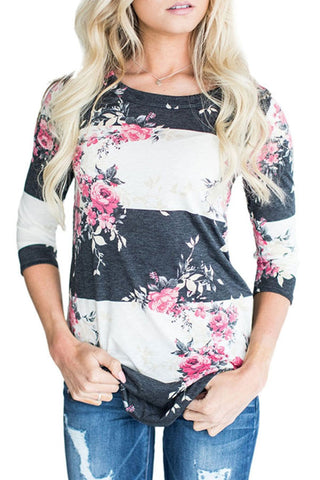 Sheinlove Printed Long Sleeved Casual Shirt