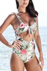 Sheinlove Tender Night Print One-piece Swimsuit