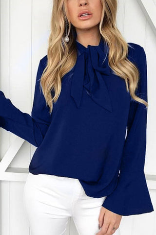 Sheinlove Long Sleeves Casual Loose Shirts