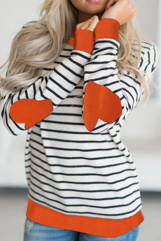 Sheinlove Stripe Casual T-shirt