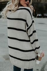 Sheinlove Knitted Loose Sweater Cardigan