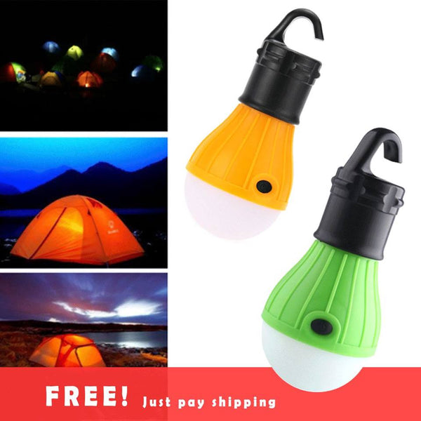 Hanging LED Camping Tent Light Bulb - Giveaway