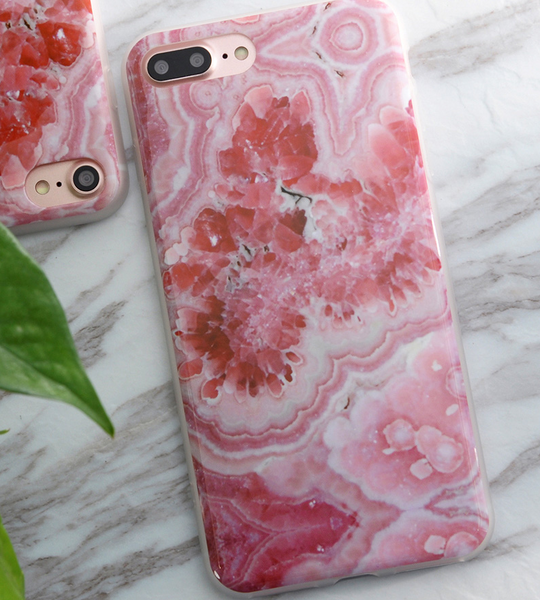 Marble stone soft iPhone Cases