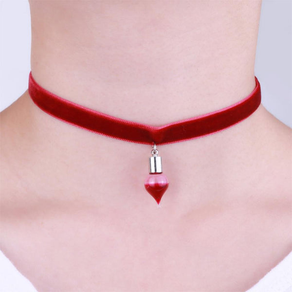 Vampire inspired chokers
