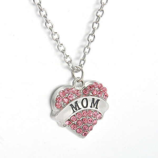 Lovely Family Member Pendant Necklace