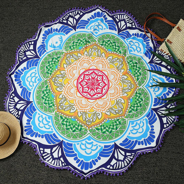 Beautiful Mandala summer scarf