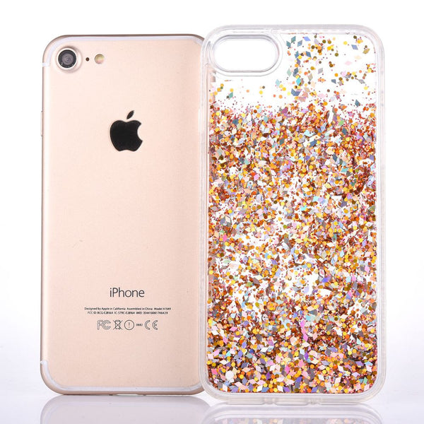 Glitter Bling Diamond Liquid Cases for iPhone