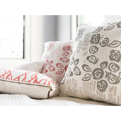 OATMEAL TWO-TONE VIVIAN PILLOW